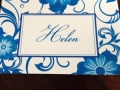 Blue Delft Pattern Notecards