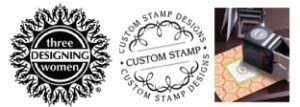 Three Designing Women Custom Address Stamps