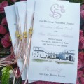 Rosecliff Wedding Program